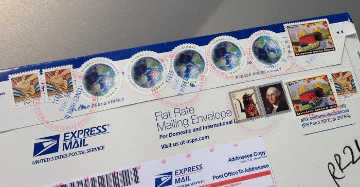 USPS Express Mail Envelope