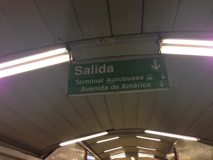 ALSA 101: Avenida de America(Madrid)
